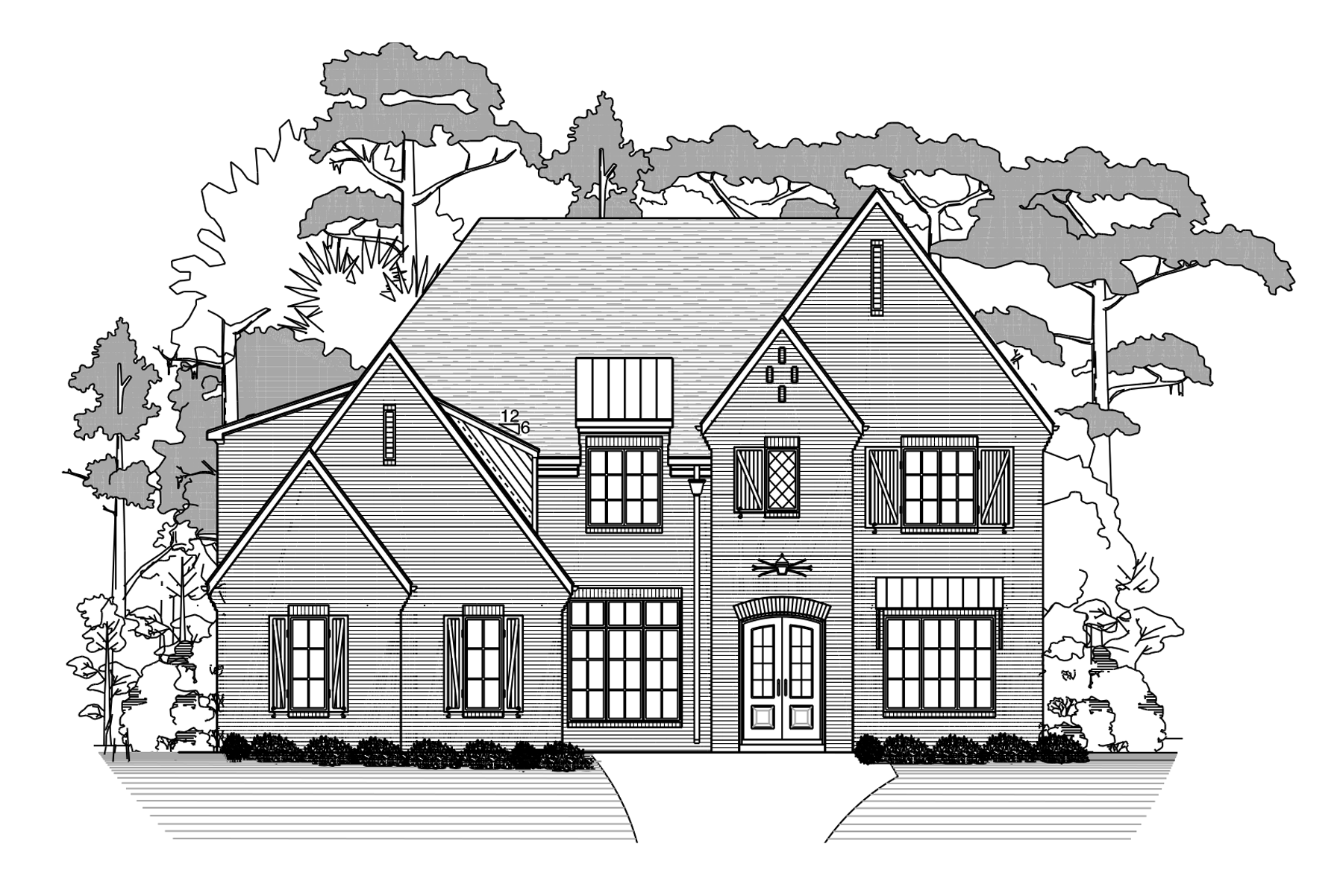 Linden New Home Plan